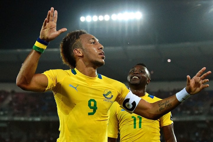 Aubameyang has made 65 appearances for his country