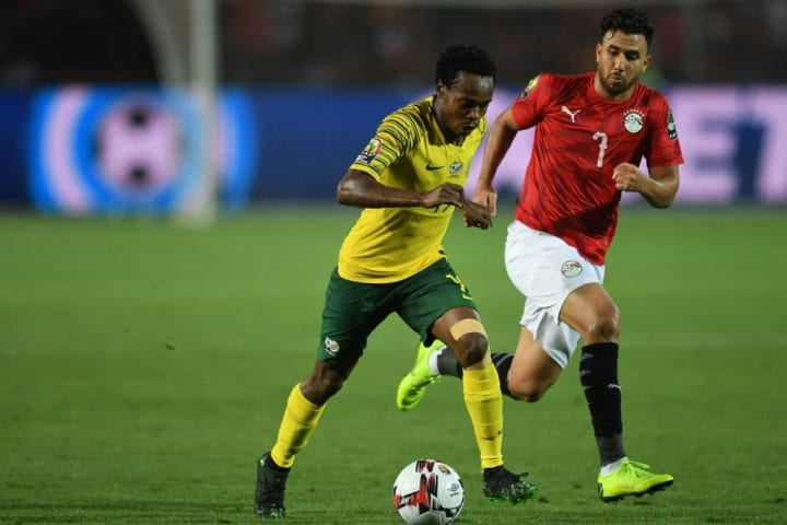 Tau was part of the South Africa side that eliminated hosts Egypt from the 2019 African Cup of Nations