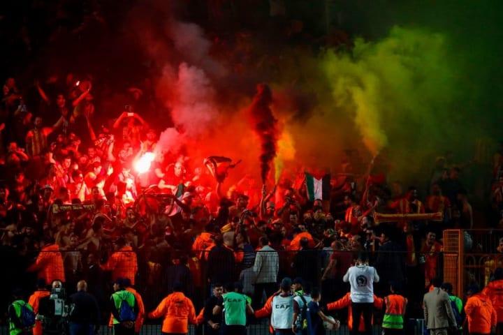 Fans at a Zamalek game