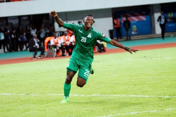 Daka scores for Zambia.