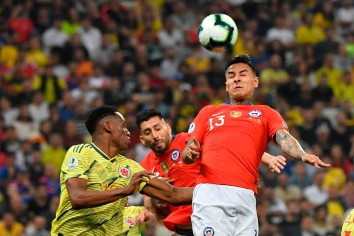 Pulgar caught the eye at the Copa America