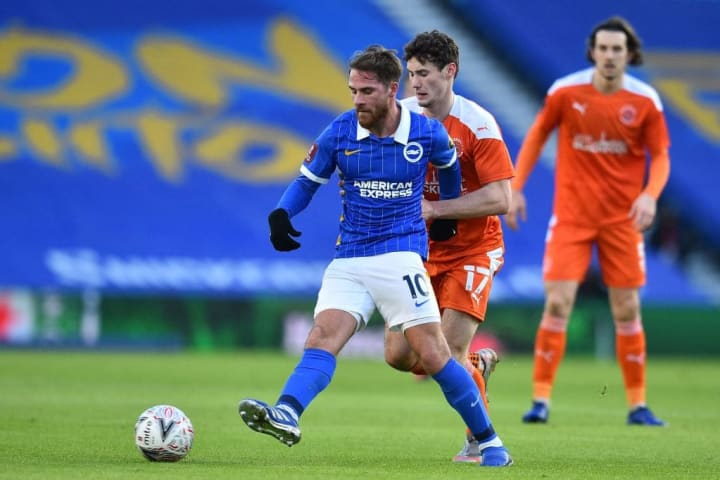 Alexis Mac Allister has been one of the major beneficiaries of Potter changing Brighton's style of play