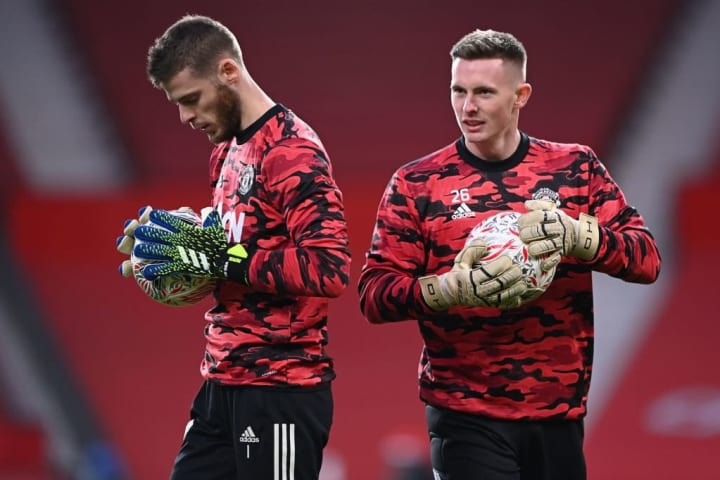 David de Gea & Dean Henderson have been competing for the starting spot