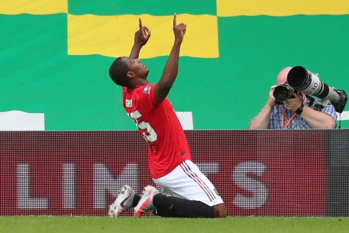 Ighalo scored five times for Man Utd while on loan from Shanghai Shenhua