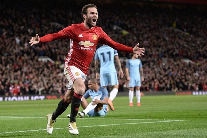 A Juan Mata strike handed Mourinho his maiden victory over Pep since 2012