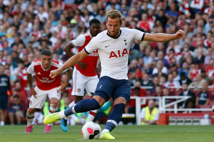 Kane has an excellent record against Arsenal