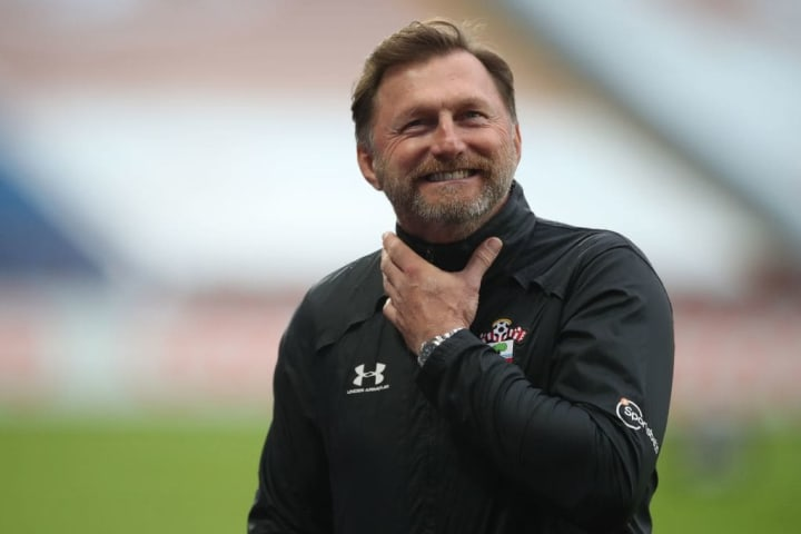 Ralph Hasenhüttl has turned things around at Southampton after a rough patch of results