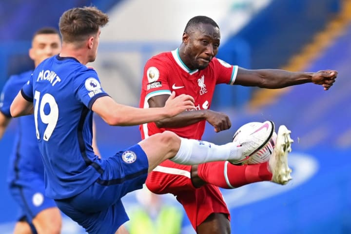 Naby Keita was withdrawn after an hour