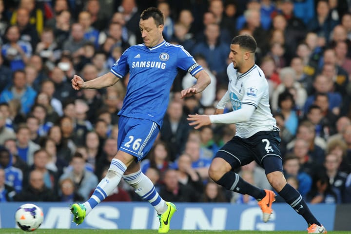 Kyle Walker was utilised as a right-winger vs Chelsea by Sherwood