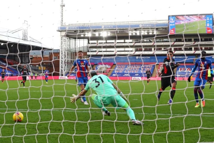Guaita could do little about Liverpool's first half goals