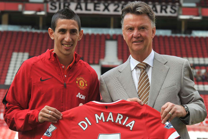 Di Maria joined Utd with so much expectation