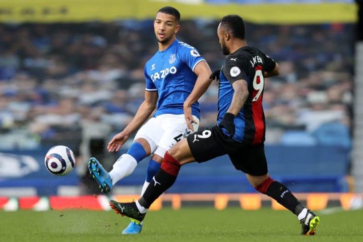 Mason Holgate impressed for Everton