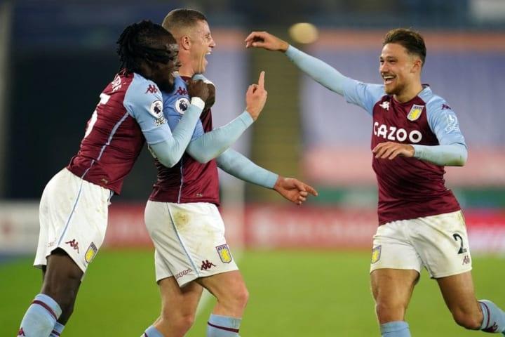 Aston Villa have taken maximum points this season
