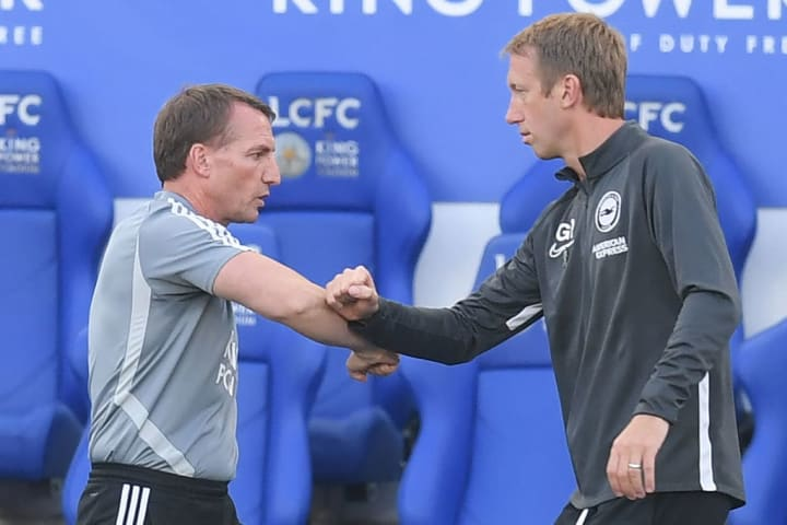 Graham Potter and Brendan Rodgers