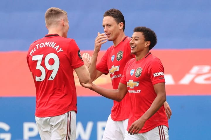 Lingard scored on the final day of the 2019/20 Premier League season - but didn't feature for Man Utd in the league again