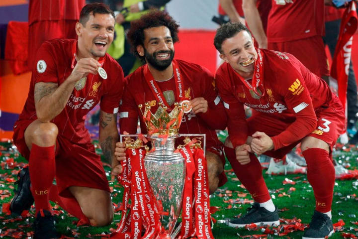 Lovren will leave the club with a Premier League winner's medal