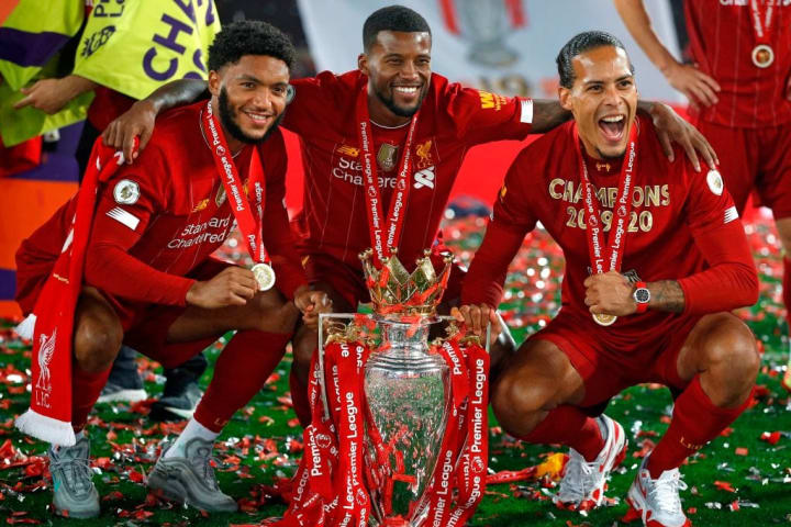 Van Dijk was crucial to Liverpool ending a 30-year league title drought