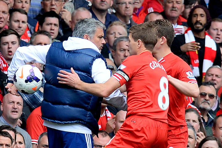 José Mourinho followed the instructions he had dished out to his players: disrupt the flow of the game