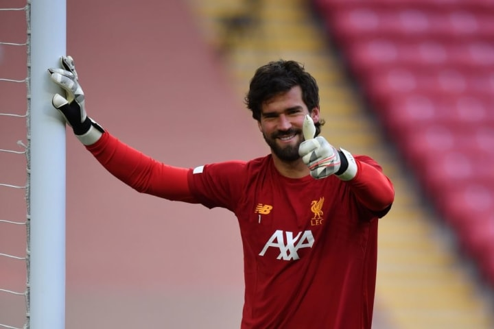 Alisson has maintained his reputation as one of the best goalkeepers in the world