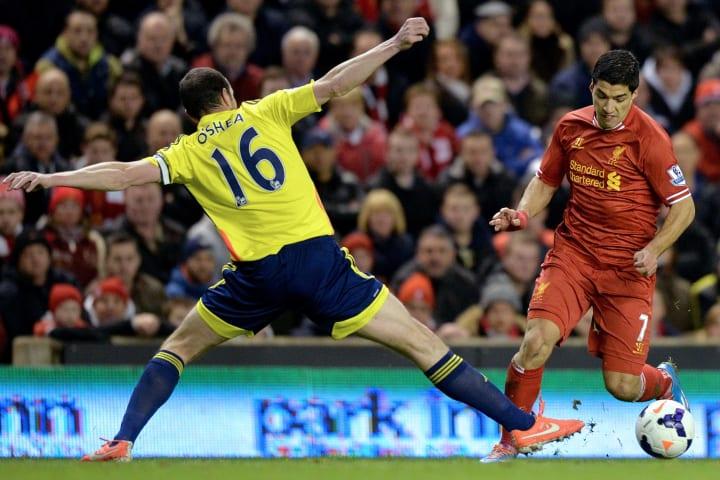 Suarez enjoyed a goal against the Black Cats