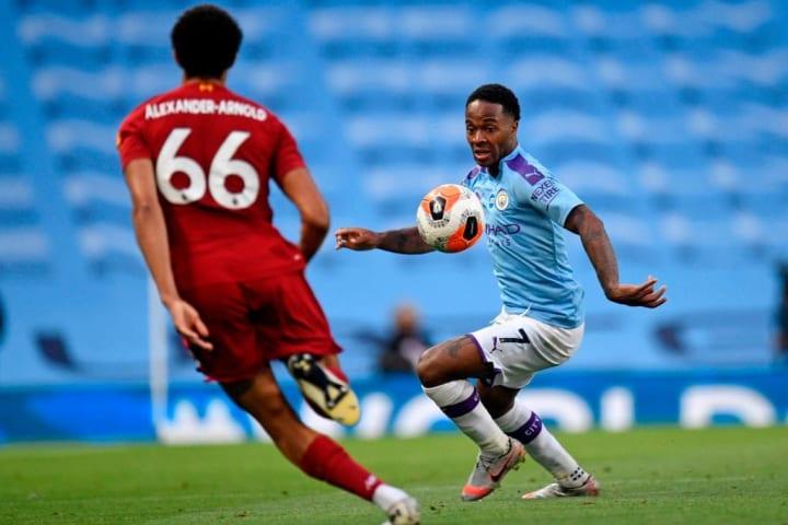 Sterling finally scored against his former side