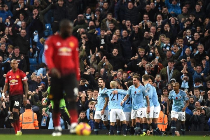 City eased to a 3-1 victory over their rivals