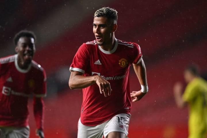 Andreas Pereira ensured he isn't forgotten about just yet