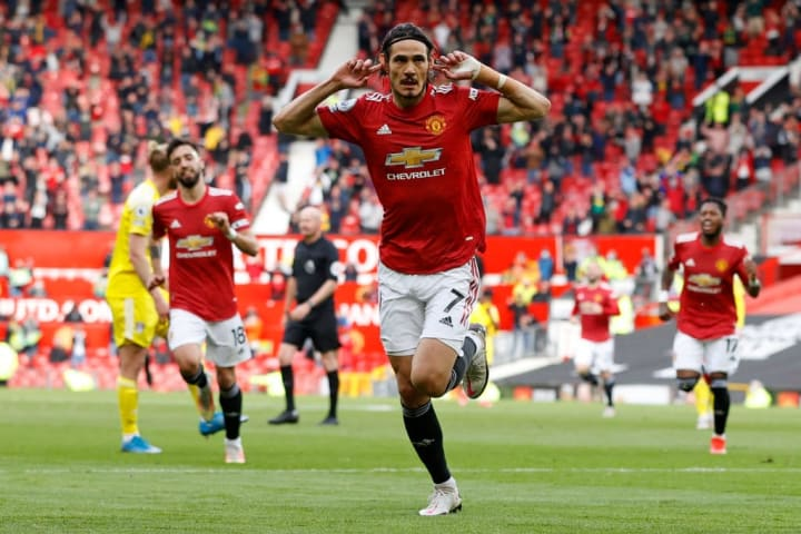Man Utd improved to second place in the Premier League