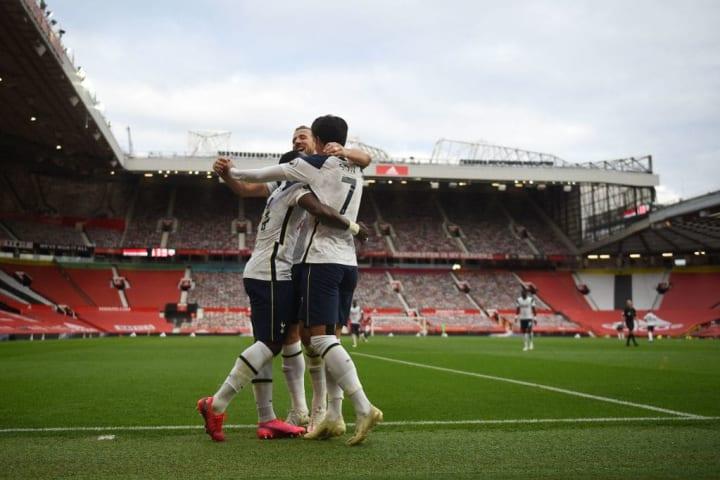 Tottenham thumped Man Utd