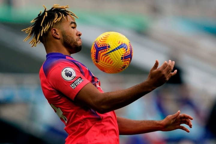 Reece James brings the ball under his spell