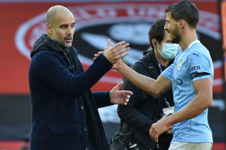 Dias is enjoying life in Manchester under Guardiola