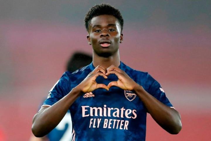 Saka has been crucial to Arsenal's winning run