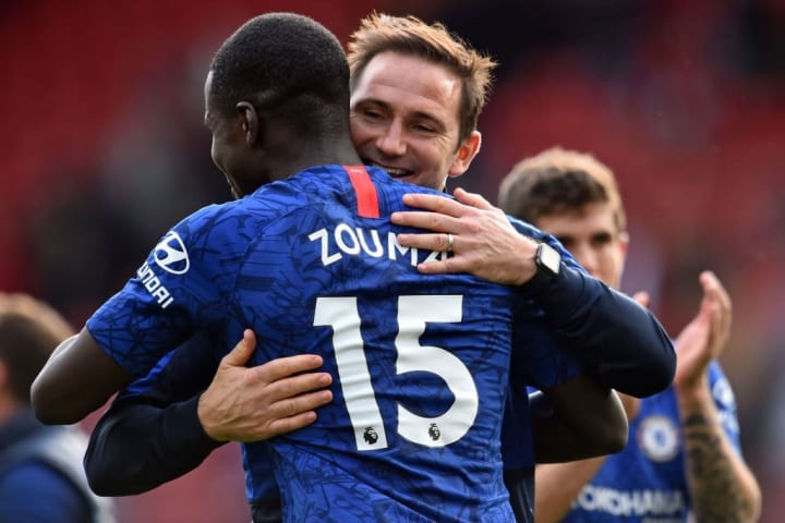 Zouma has been a firm fixture in Frank Lampard's plans this season