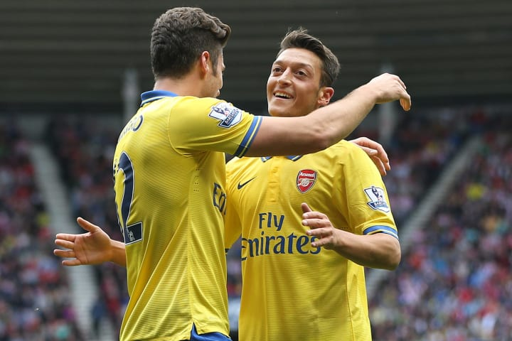 Ozil was crucial to Arsenal getting three points on his debut