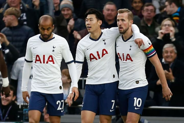 Spurs have called upon a range of attacking talents this season