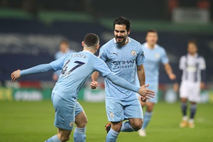 Gundogan scored his sixth league goal of the season
