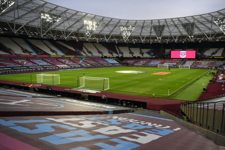 An empty London Stadium will host the game