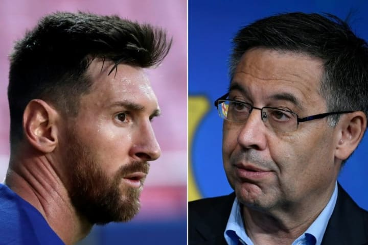 Messi and Bartomeu's difficult relationship has made headlines at Barcelona all year