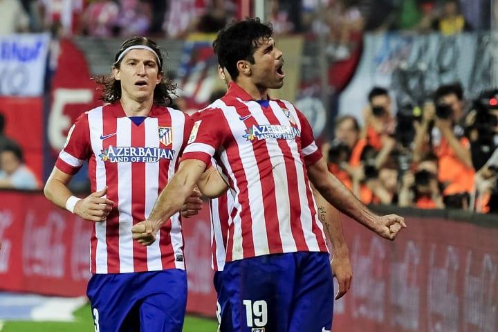 Costa powered Atletico to La Liga glory in 2013/14