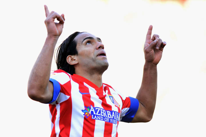 Falcao made his senior debut nearly four years before Musiala was born