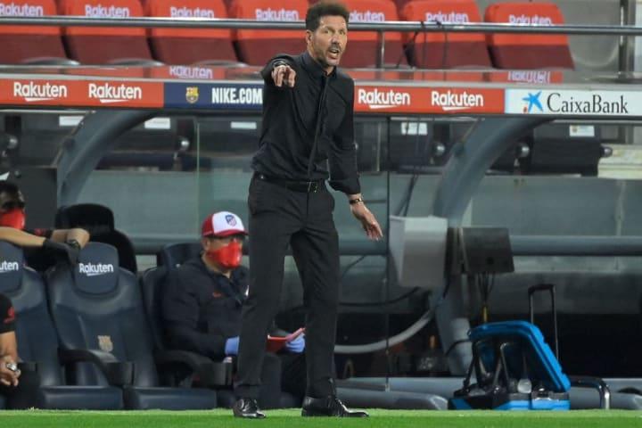 Diego Simeone's side were impressive in the 2-2 draw