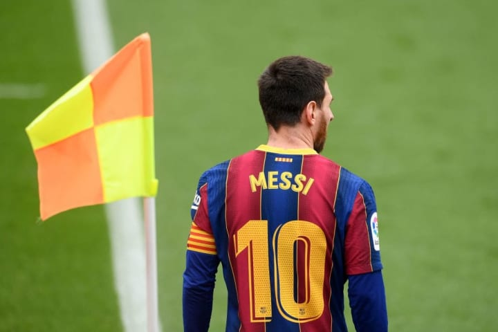 Messi far from flagging