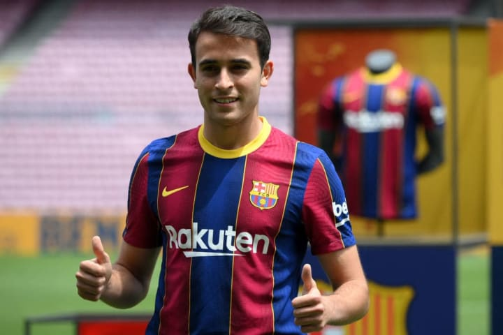 Eric Garcia has returned home to Barcelona from Man City