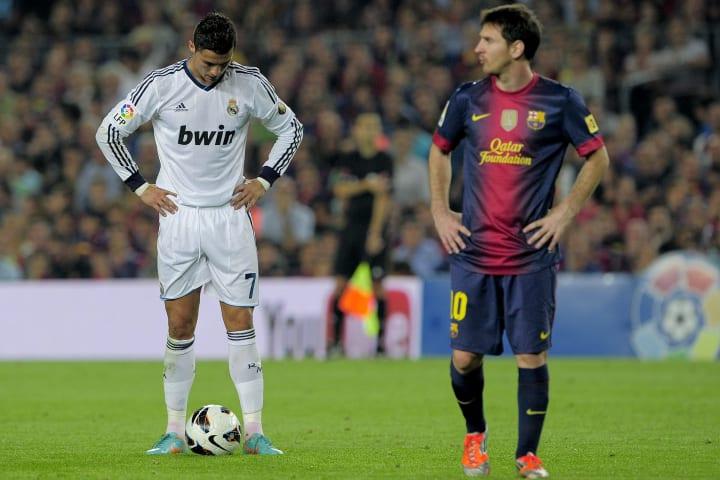 Messi und Ronaldo trafen im Oktober 2012 doppelt