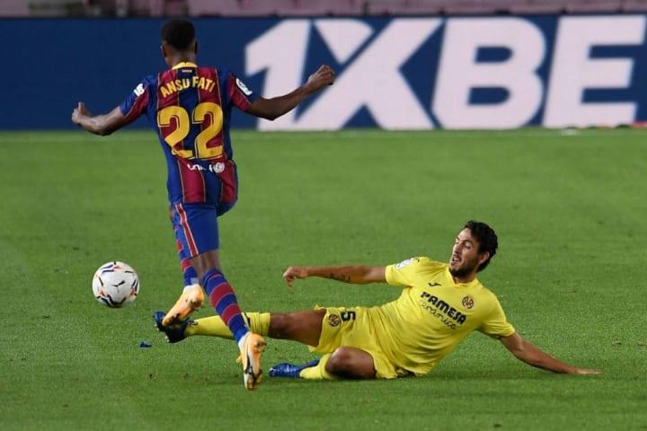 Parejo was Villarreal's best performer in midfield