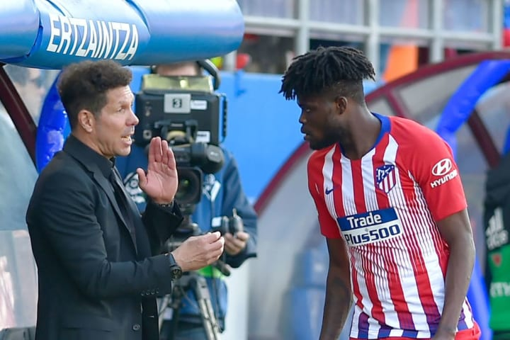 Reports this week claim Partey will stay put at Atletico