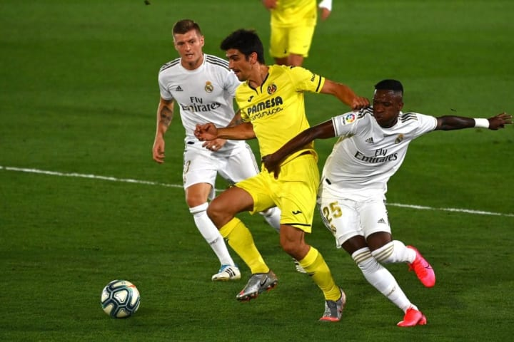 Villarreal were stifled in attack, with Cazorla's creativity sorely missed