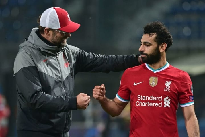 Salah isn't unhappy at Liverpool but there is another step still to take