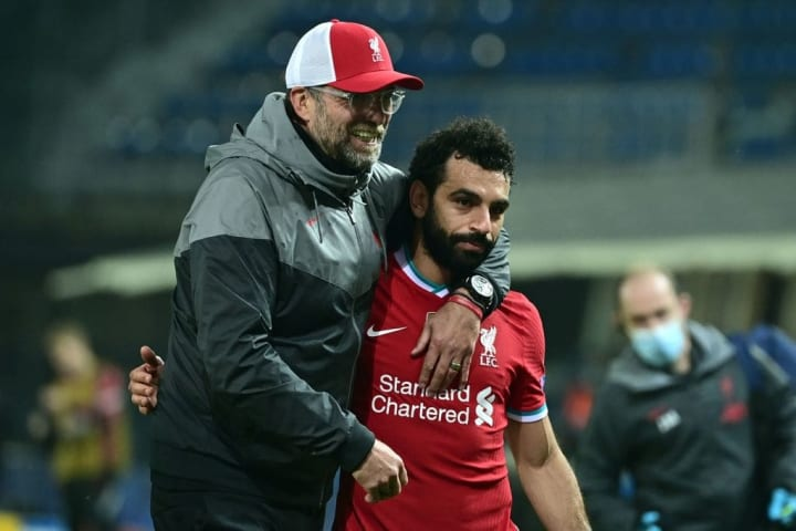 Salah added his Anfield future was 'in the hands of the club'