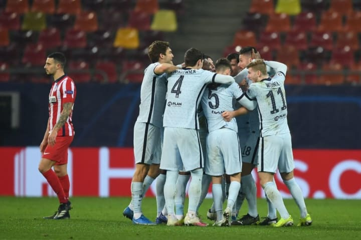 Atletico posed a major threat but Chelsea prevailed